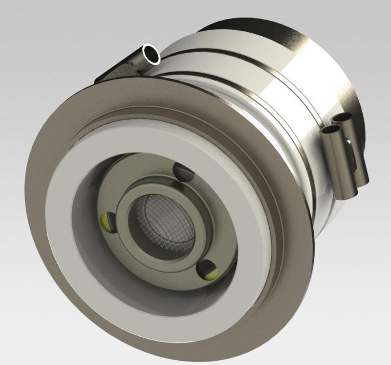 Electron Gun A101595, 3D rendering, Altair Technologies-USA