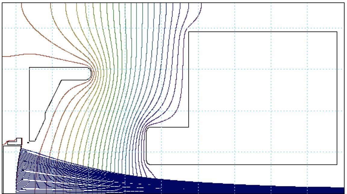 Electron Gun A102414 beam profile, Altair Technologies-USA