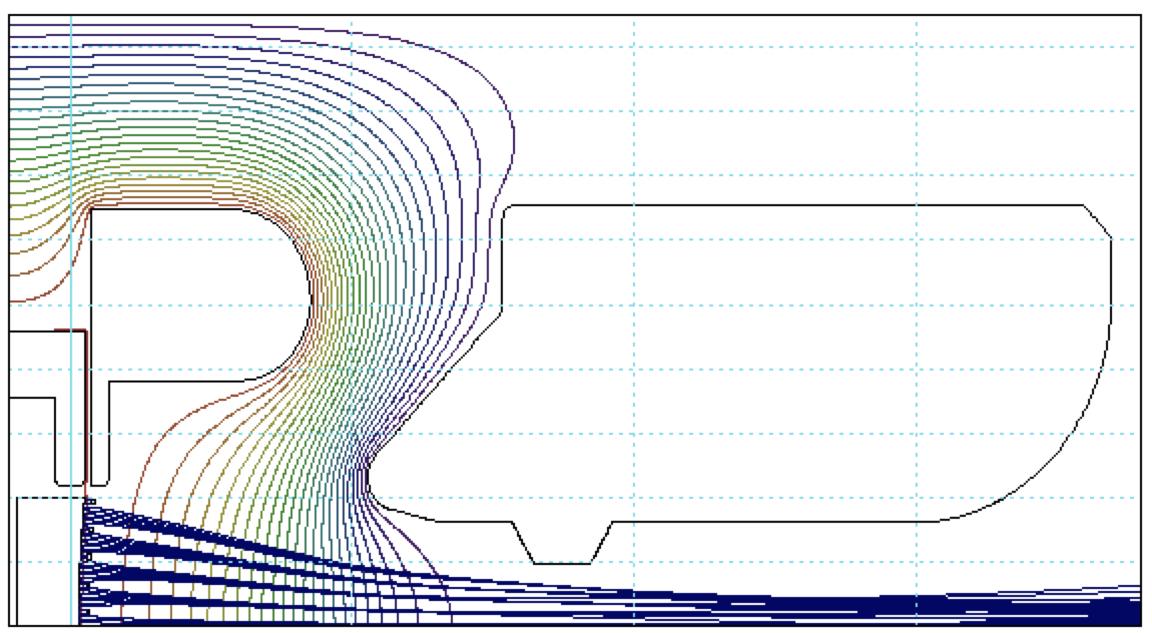 Electron Gun A102791 Beam Profile, Altair USA