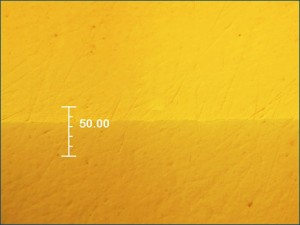 Diffusion Bonding - scope view of bond joint